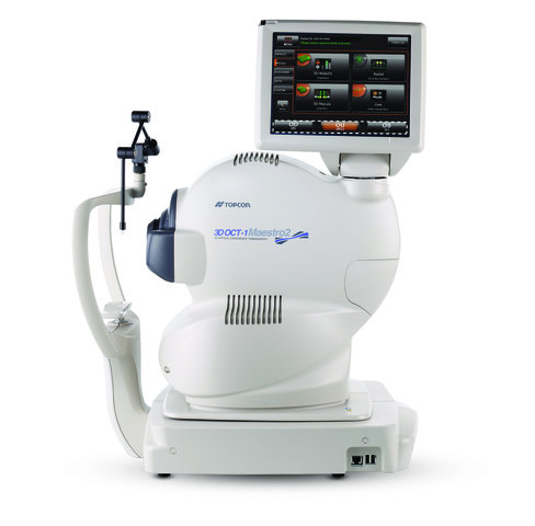 TOPCON 3D-OCT Maestro 2